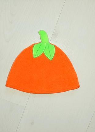 Тёплая шапка шапочка george тыква тыковка мальчик девочка