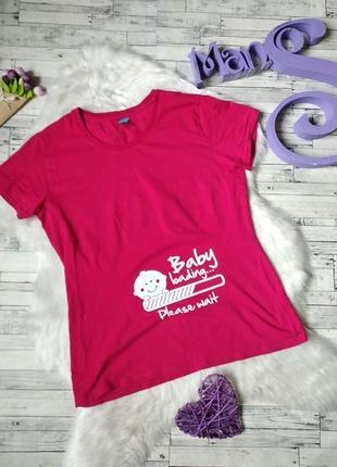 Футболка spread shirt baby loading... женская розовая