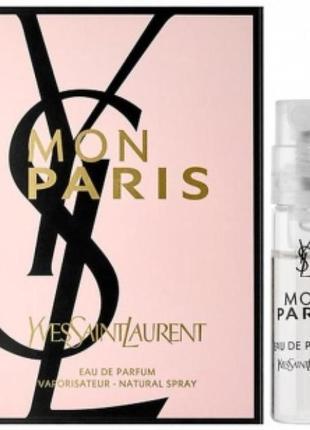Yves saint laurent mon paris/ пробник/парфуми/духи