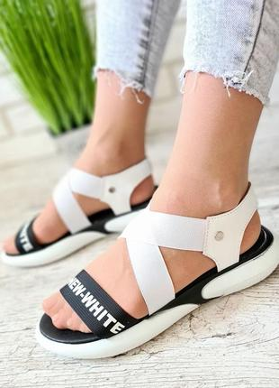 Босоножки сандали шлепки на резинке