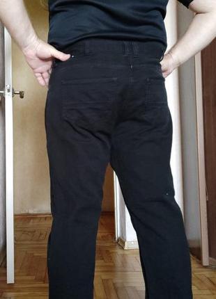 Джинсы черные,зауженные denim co(ireland), w40l30 (101cm.,76cm.)