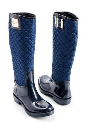 Срочно сапоги резиновые на весну высокие сапожки ботинки