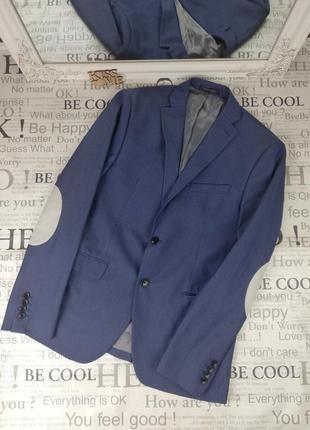 Брендовый стильный  пиджак  с нашивками на рукавах zara