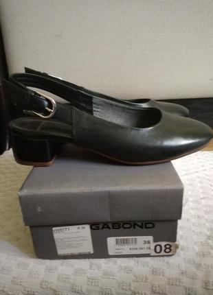 Vagabond туфлі з відкритою п'яткою 38р.