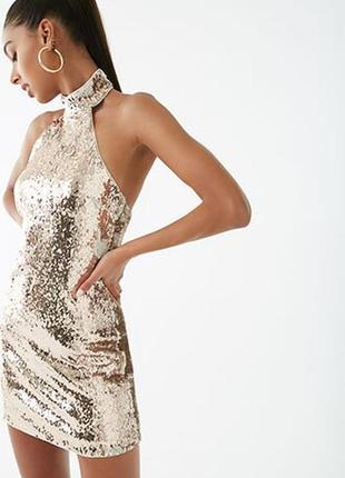 Коктейльное платье, р. s, forever 21
