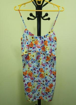 Летний сарафан с цветочным принтом от miss selfridge