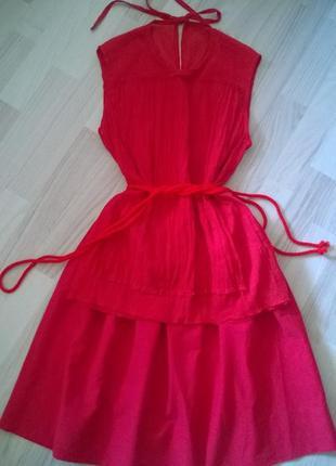 Moschino,оригинал, красная блуза