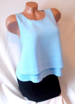 Total sale скидки распродажа!!! небесно-голубой бирюзовый топ блуза topshop