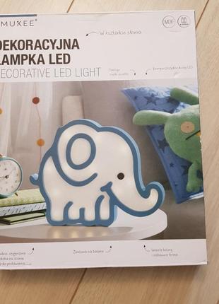 Декоративные светильник led