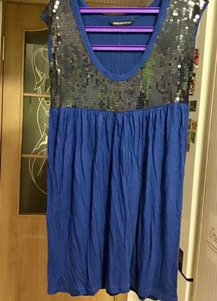 Туніка плаття паєтки пайетки платье