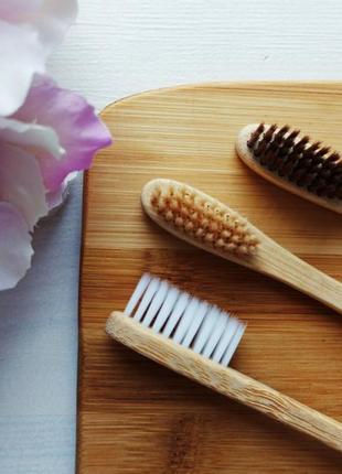 🌿💙набор бамбуковых зубных щеток 💙🌿