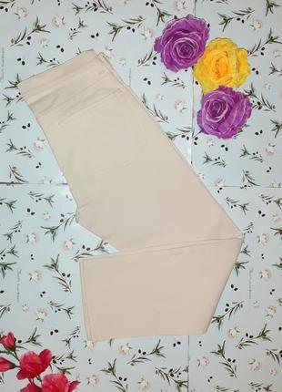 🎁1+1=3 оригинальные бежевые женские джинсы бойфренд gap, размер 42 - 44