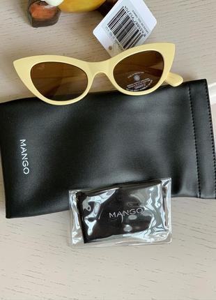 Солнцезащитные очки кошачий глаз, 43020689 cat eye, vainilla, c.10, total uv protection