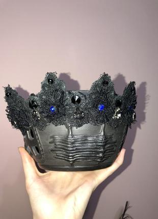 Кружевний ободок корона
