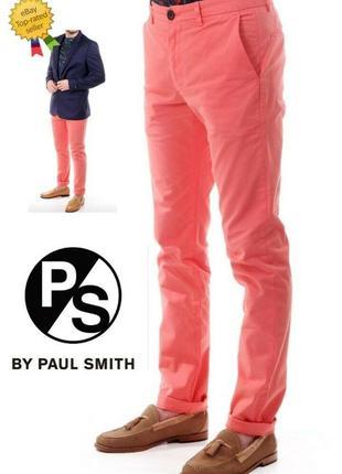 Мужские джинсы paul smith ps chinos slim fit, пр-во греция