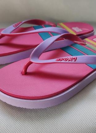 Вьетнамки шлепанцы пляжные розовые plaazzo 36-41р. a13123-1