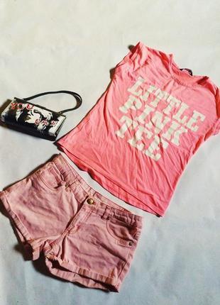 Летние коттоновые шорты
