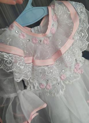 Красиве плаття для вашої принцеси 9-12міс.
