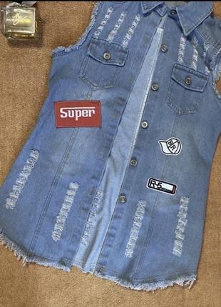Продам джинсовая куртка женская