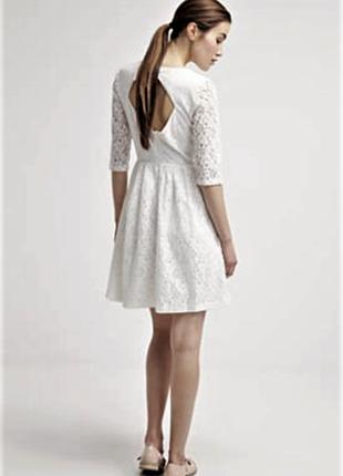 Нежное, белое платье, mint& berry