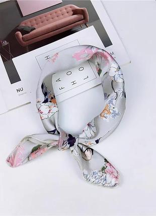 Платок хусточка аксессуар для волос сумок