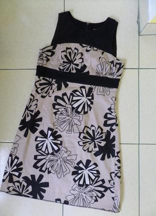 Тоненьке натуральне плаття xl