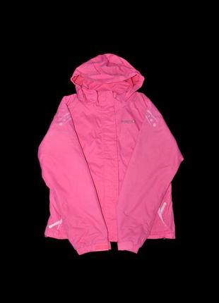 Куртка regatta германия нежно-розовая на девочку 11-12 лет демисезон