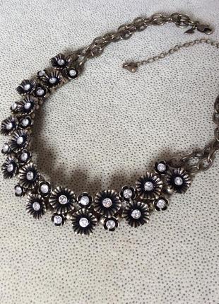 Винтажное ожерелье колье