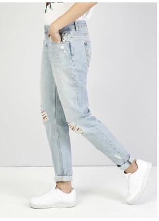 Крутые бойфренды джинсы colin's julia большой размер