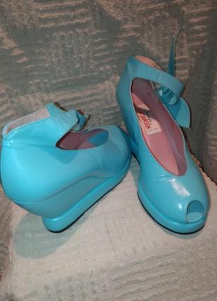 Туфли натуральная кожа sense jan jansen