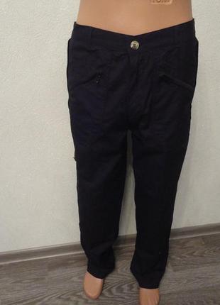 Штаны, роба, рабочая одежда черные с карманами