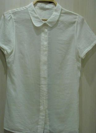 Блузка рубашка шелк хлопок германия оригинал