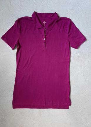 Женская футболка поло c&a
