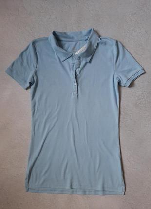 Женская футболка с воротником поло c&a