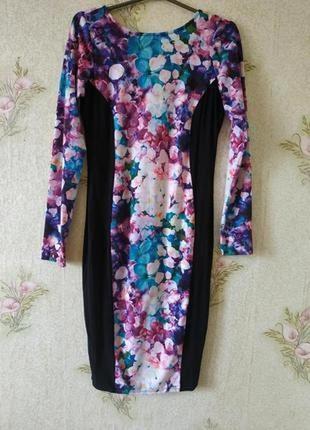 Красивое платье миди # яркое платье миди # lipsy
