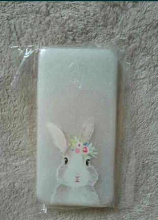 Чехол для смартфона meizu , силиконовый чехол , принт кролик