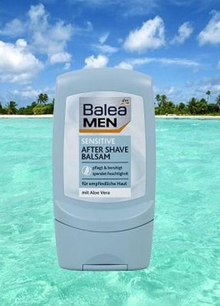 Бальзам после бритья balea men balsam sensitive