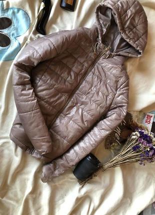 Актуальная куртка , дутик , бежевая курточка от chicoree в идеале