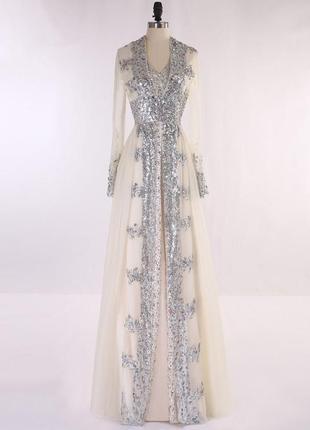 Свадебное платье или вечернее, xl