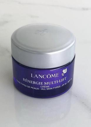Дневной крем с эффектом лифтинга, lancome renergie multi-lift cream spf15