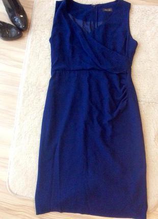 Ярко-синие платье alexon