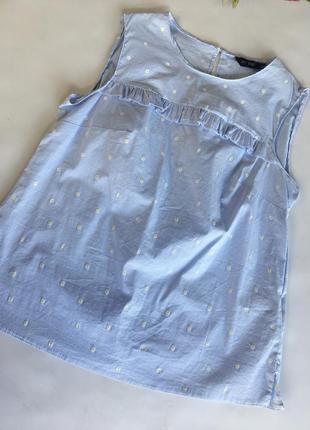 Хлопковая блуза от f&f