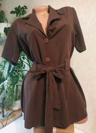 Жакет  шеколадного цвета,голландия, брендовые вещи, обувь в летней распродаже! -50%2 товар