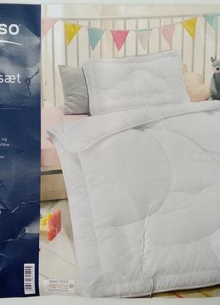 Комплект детского послельного белья meradiso,германия одеяло и подушка