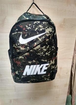 Камуфляжний рюкзак nike