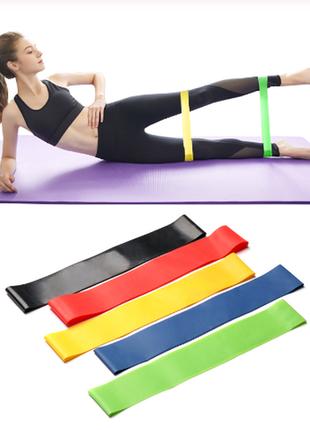 Фитнес резинки/резинки для спорта/набор фитнес резинок/спортивные резинки