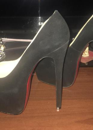 Замшевые туфли sexy fairy