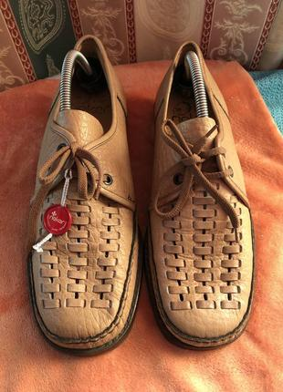 Новые мужские летние туфли немецкой фирмы rieker