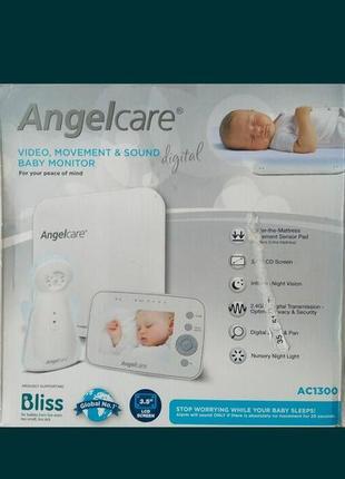 Сенсорная видеоняня-монитор дыхание angelcare ac1300