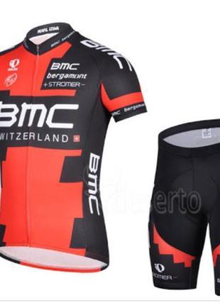 Велокостюм bmc, костюм для спорта